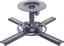 H8130A • Black Ceiling Bracket Projector Balljoint 10kg