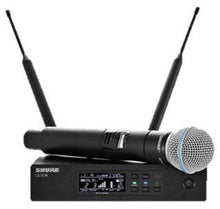 Shure QLXD with Beta 58 Handheld Wireless System