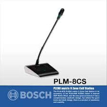 Bosch PLM-8CS Call station, 8-zone Desktop paging Microphone