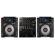 Pioneer DJ Headline Pack with CDJ900NXS Pair and DJM900NXS2