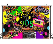 Hire - 90's Backdrop Stage Banners