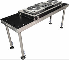 Hire DJ Platform Table / 1.22M Wide  X 0.61M Dept 1 mtr high