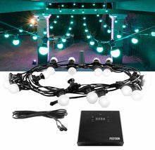HIRE - FESTOON LED DECOR LIGHTING 15Mtrs Strand 20 Bulbs (Commercial Grade)