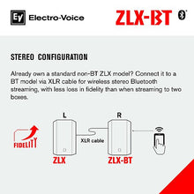 "Hire - EV ZLX-12BT 12"" Powered Loudspeaker with Bluetooth Audio*"