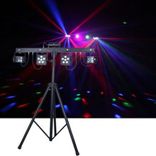 CR Mix Party Bar Pro (Derby + LED Par + UV/Strobe + RGB Laser w/ Wireless Controller)