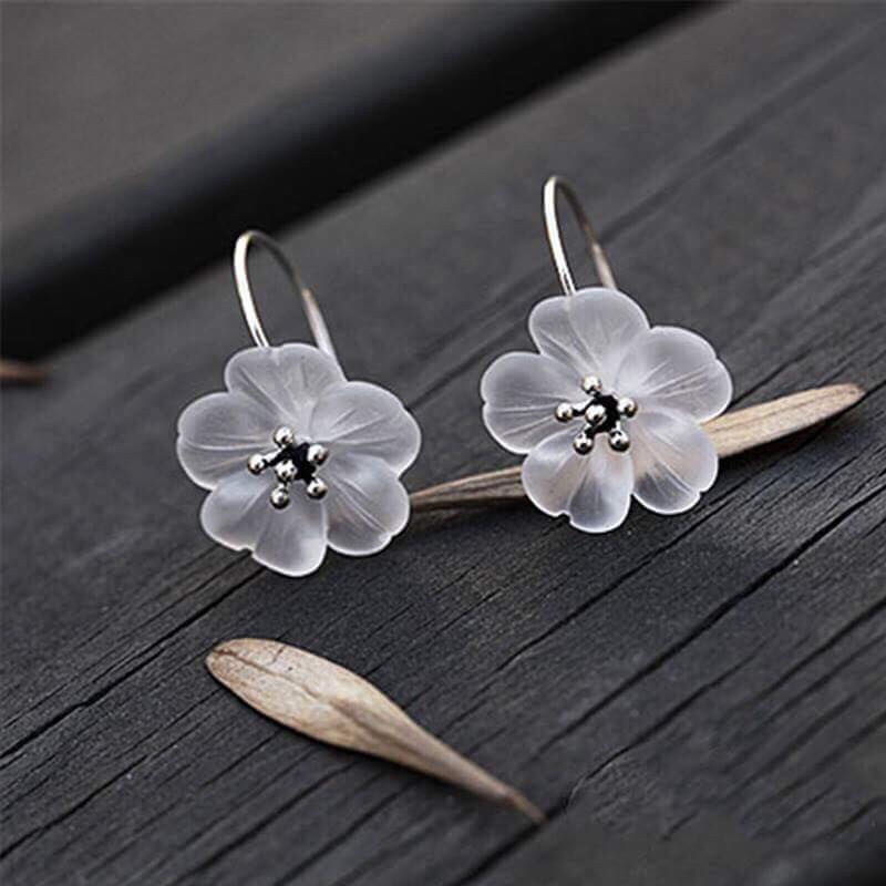 After Rain Flower Drop Earrings