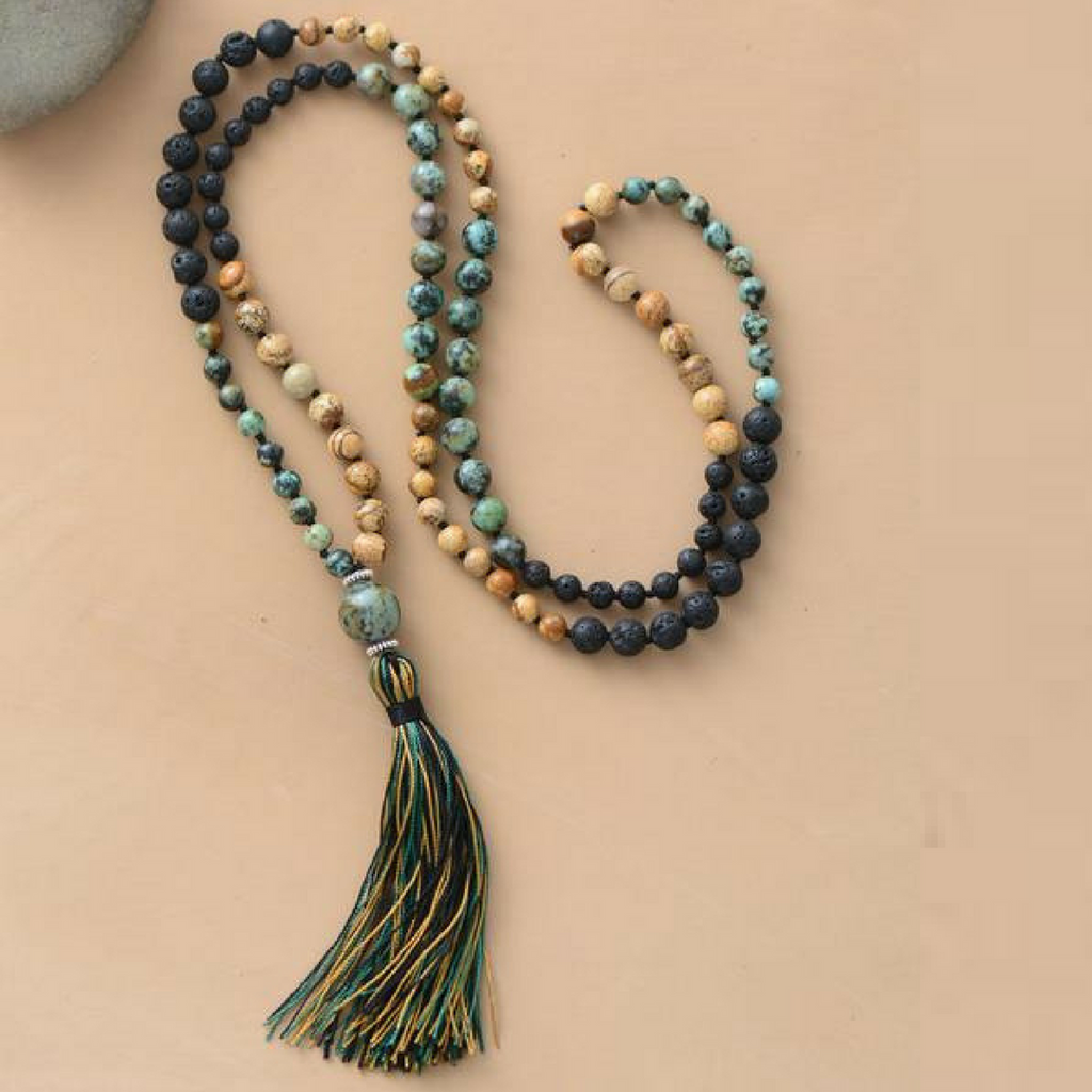 108 Beads Serenity Necklace