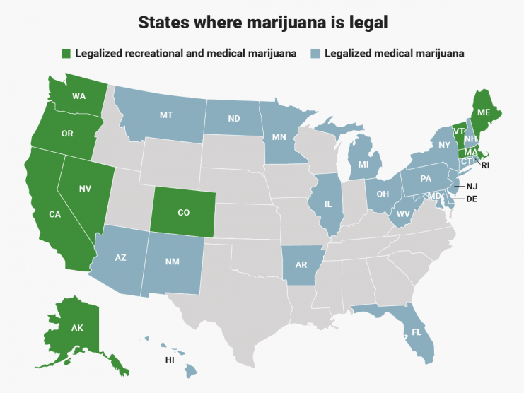 What States Have Legal Marijuana