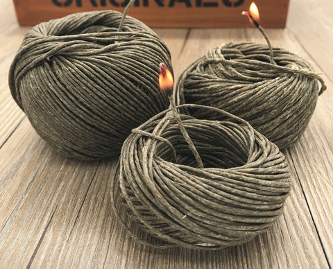 Hemp Wick ( Used For Burning )