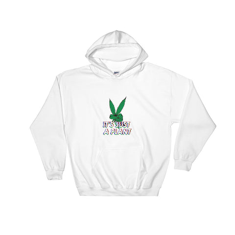Its Just a Plant Glitch Hoodie