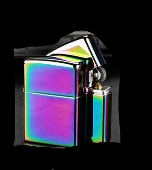Multi-Color Stainless Steel Lighter