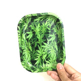 Mini Weed Graphic Rolling Tray