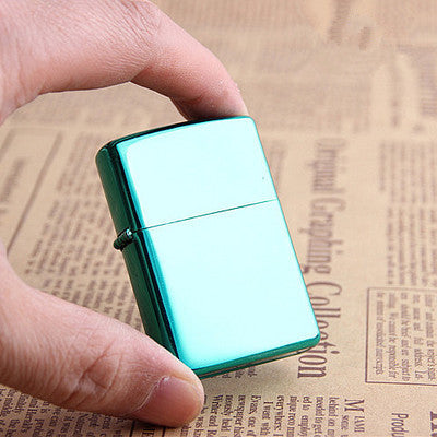 Retro Blue Lighter
