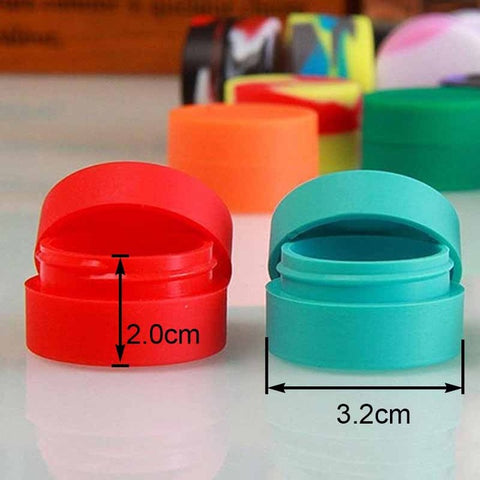 Silicone Non-stick Wax Container