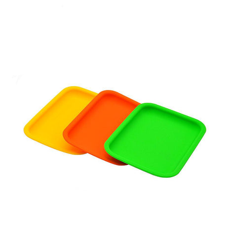 Colorful Silicone Rolling Tray