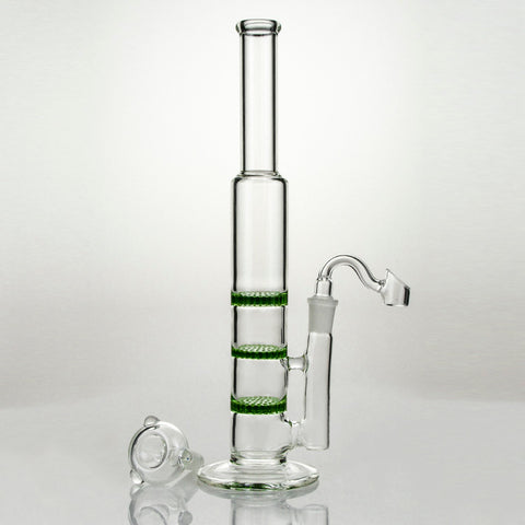 Triple Honeycomb Dab Rig with Accessories