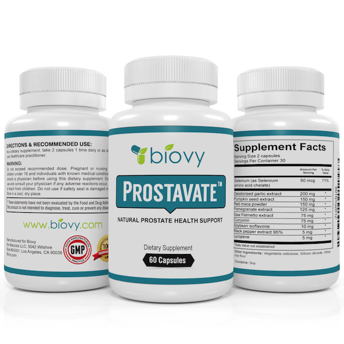 Prostavate™ - Powerful Natural Prostate Support Supplement