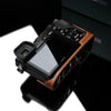 Gariz Camel Brown Leather Camera Half Case XS-CHA6000CM for Sony A6000