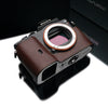 Gariz Brown Leather Camera Half Case XS-CHA7BR for Sony Alpha A7 A7R A7S