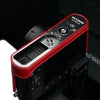 Gariz Leica D-LUX Red Leather Camera Half Case HG-DLUXR