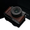Gariz Brown Leather Camera Half Case XS-CHLX100BR for Lumix LX100 DMC-LX100
