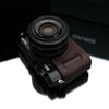 Gariz Brown Leather Camera Half Case HG-RX1R2BR for Sony DSC-RX1 RII R2