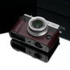 Gariz Brown Leather Camera Half Case XS-CHX30BR for Fujifilm X30 Fuji X30