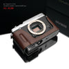 Gariz Brown Leather Camera Half Case HG-XE2BR for Fujifilm XE1 X-E1 XE2 X-E2