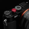 Gariz Screw type Soft Button Red XA-SBA3S for Sony RX1