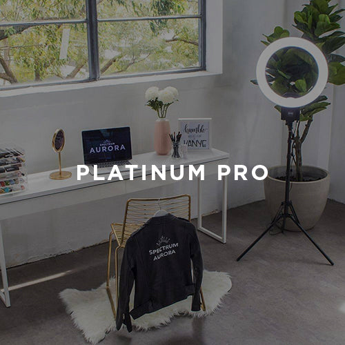 spectrum aurora platinum pro ring light