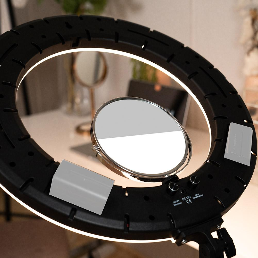 "18"" LED Ring Light Bi-Coloured Kit - Cressida"