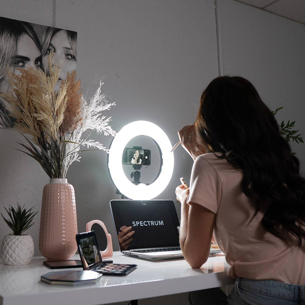 "13"" LED Beauty Portable Ring Light - Mini Pearl III"