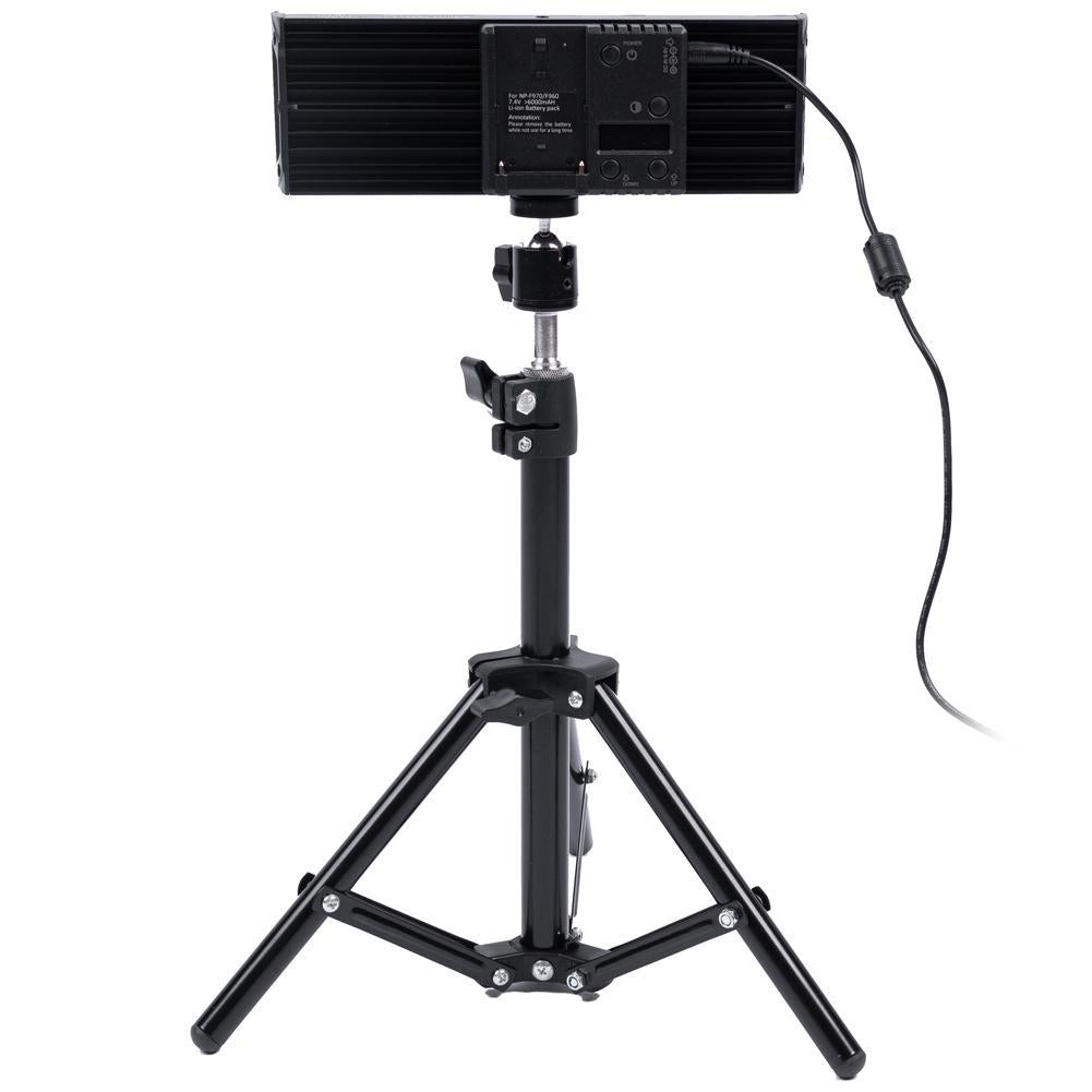 "9"" LED Photography Video Studio Lighting Kit - 2x 'DUO' Crystal Luxe"