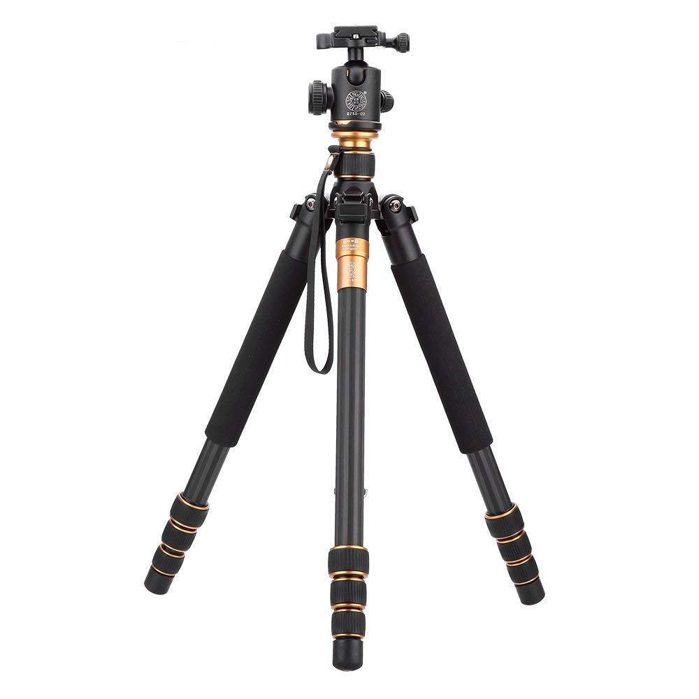 Beike Q999C Carbon Fiber Tripod/Monopod with Ball Head