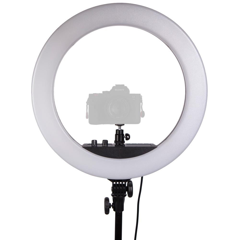 "18"" LED Portable Ring Light - Diamond Luxe III"