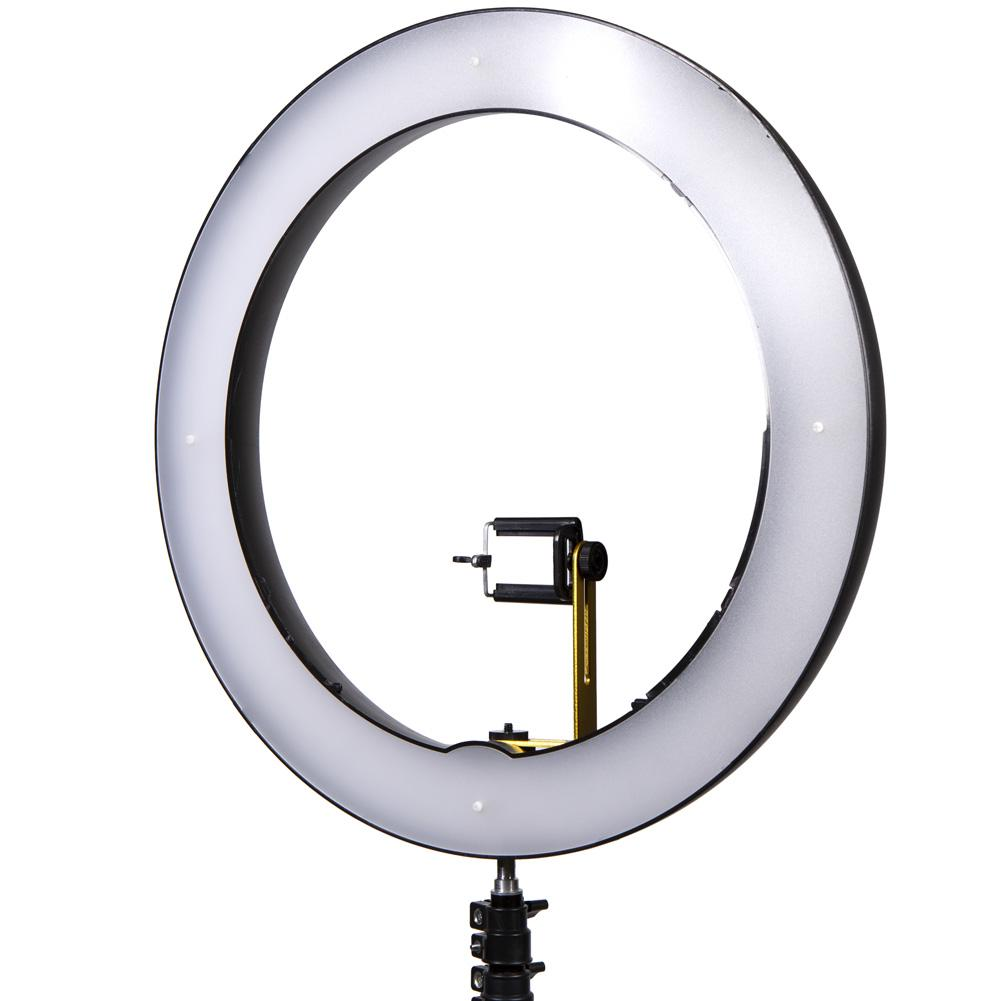 Professional Media Wall Gold Luxe Ring LED Youtube Video Lighting Kit