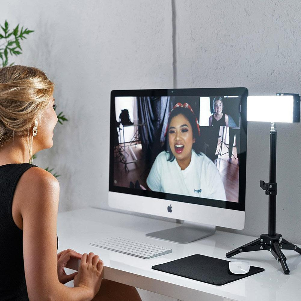 "13"" Pro LED Lighting 'Skype' Video Conferencing Desk Kit - Single Pack"
