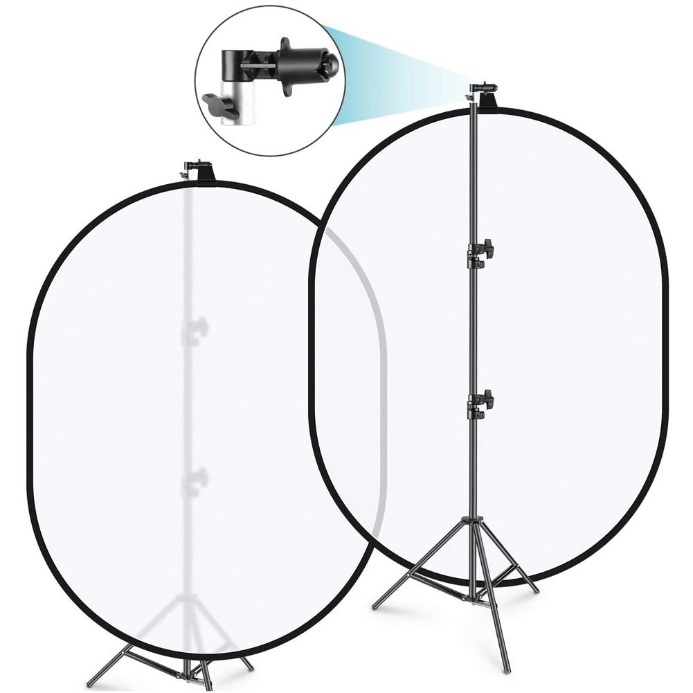 Portable Studio Collapsible Background and Reflector Disc Holder
