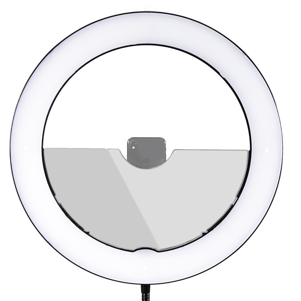"19"" LED Ring Light - Gold Luxe II"