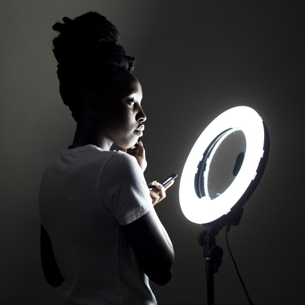 Spectrum Aurora Ring Light Mirror Only (Mini Pearl)