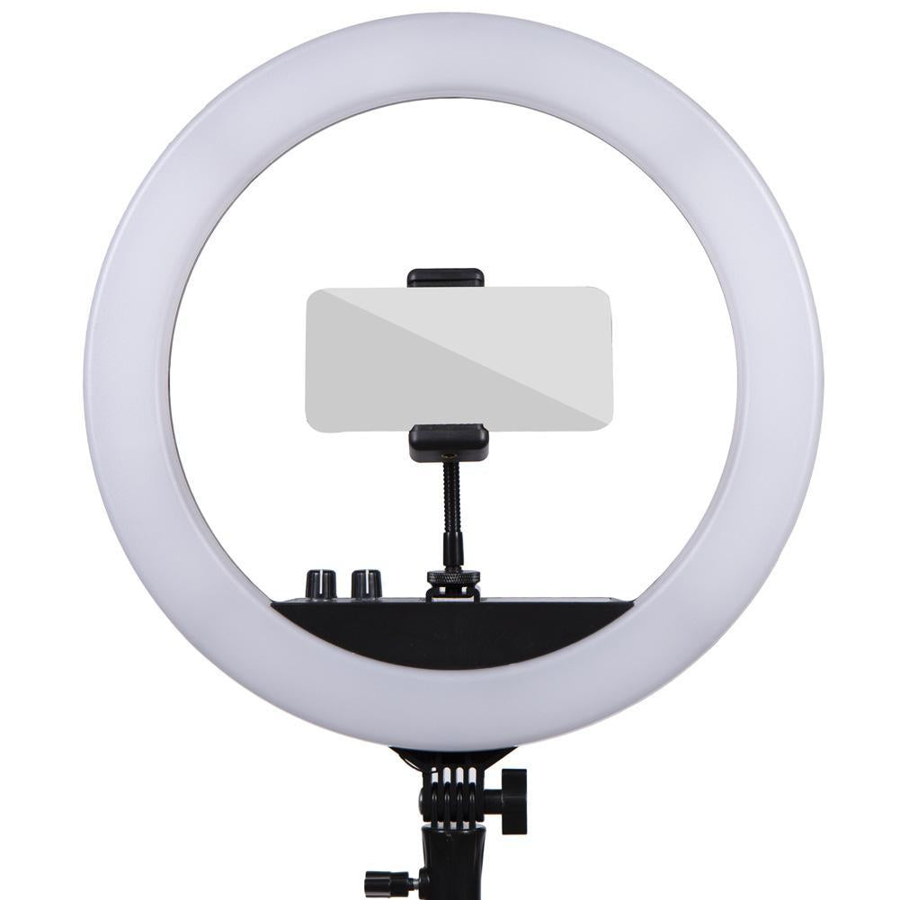 'Twitch Kit' Chroma Key Green Screen Gaming Ring Light Setup