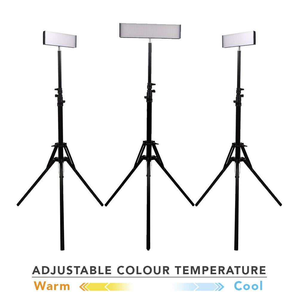 Spectrum Crystal Luxe 'TRIO' LED Youtube Video Lighting Kit