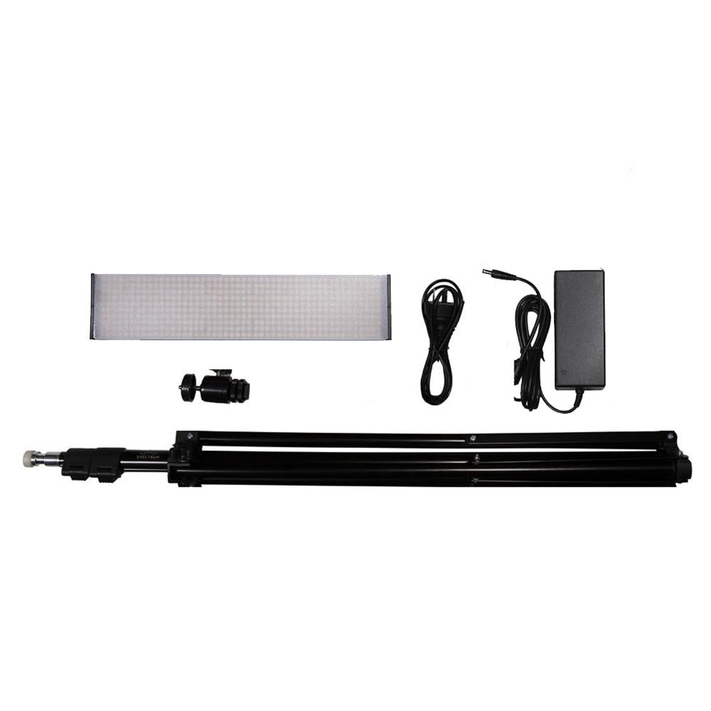 "13"" LED Photography Video Studio Lighting Kit Panel - 1x Crystal Luxe (No Battery And Charger)"