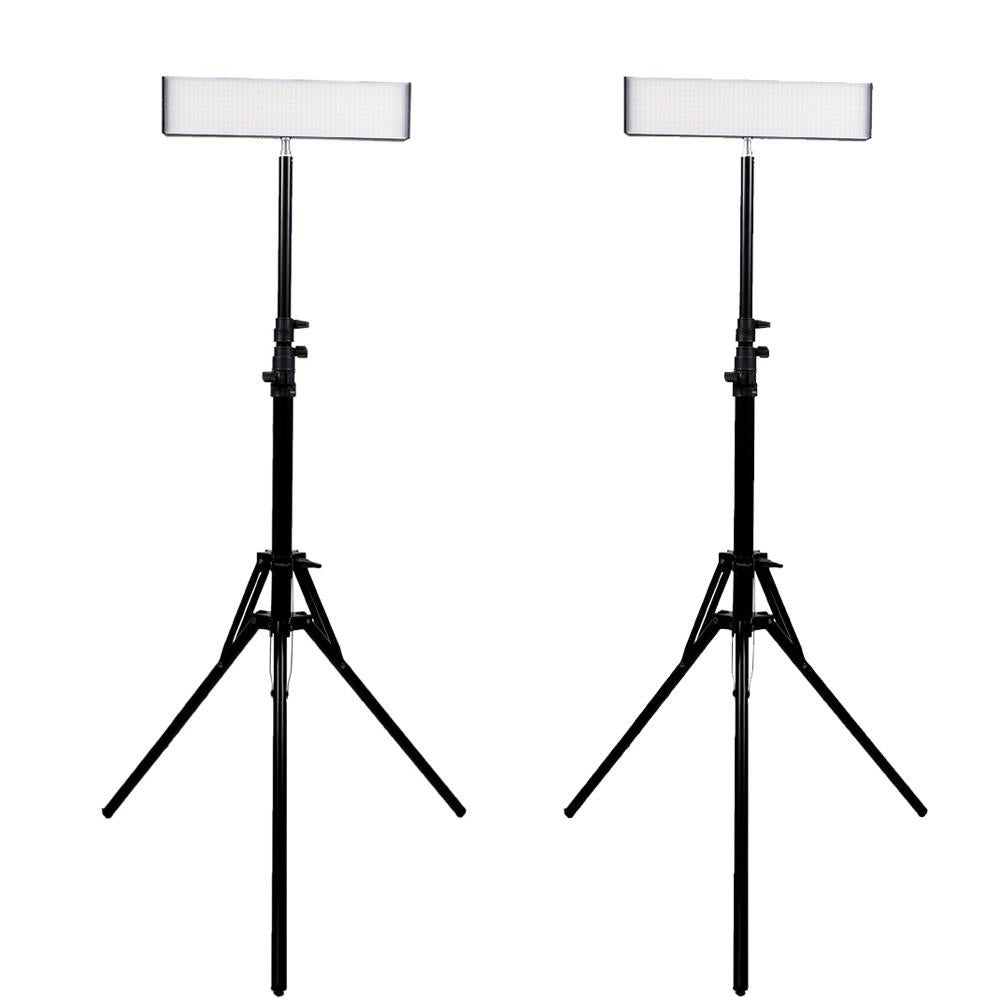 "Spectrum 2x Crystal Luxe 13"" 'DUO' LED Youtube Video Lighting Kit"
