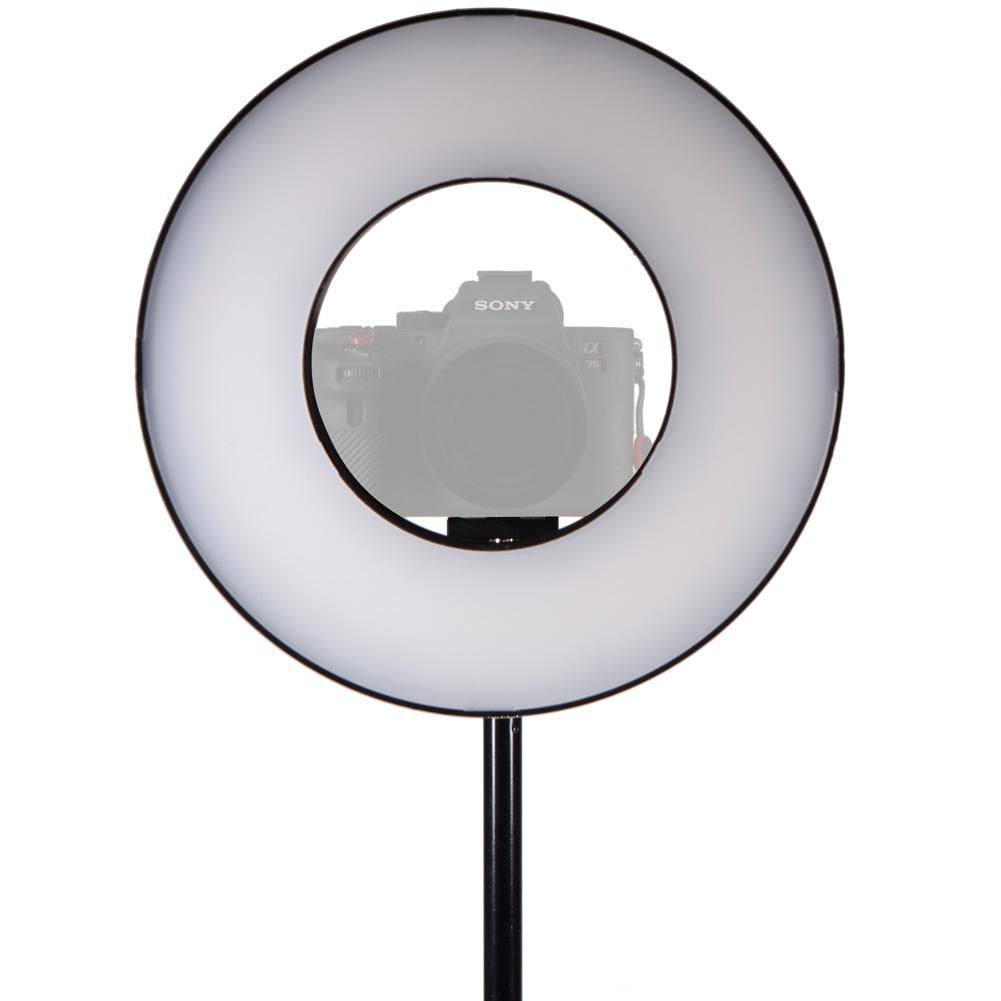 "Spectrum-PRO 10"" 'Eclipse' Advanced LED Ring Light"