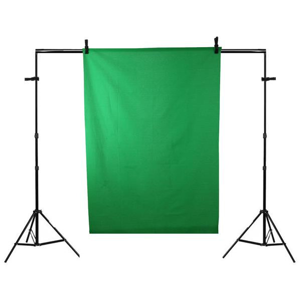 'TWITCH KIT PRO' Chroma Key Green Screen Gaming Ring Light Setup