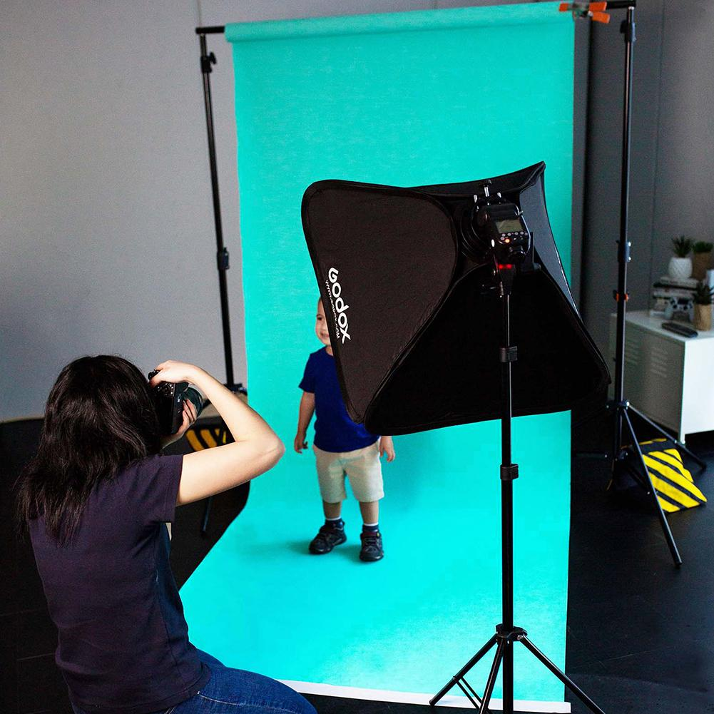 Paper Roll Photography Studio Backdrop Half Length (1.36 x 10M) - Aquamarine Blue