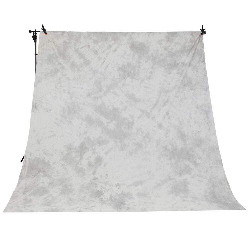Spectrum Kaleidoscope Series Mottled Cotton Muslin Backdrop 3M x 5M - Arctic Hare