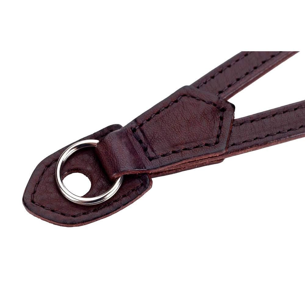Artisan & Artist ACAM-290 Leather Camera Strap (Dark Brown)
