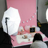 Baby Pink Paper Roll Photography Studio Backdrop Half Length (1.36 x 10M)